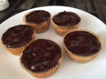 Mini Cheesecakes with Chocolate Topping
